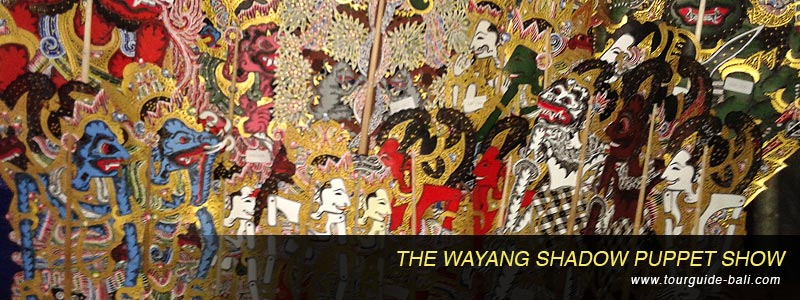 shadow pippet wayang perform